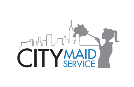 NYC maid service logo transparent background