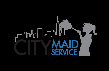 NYC maid service logo transparent background